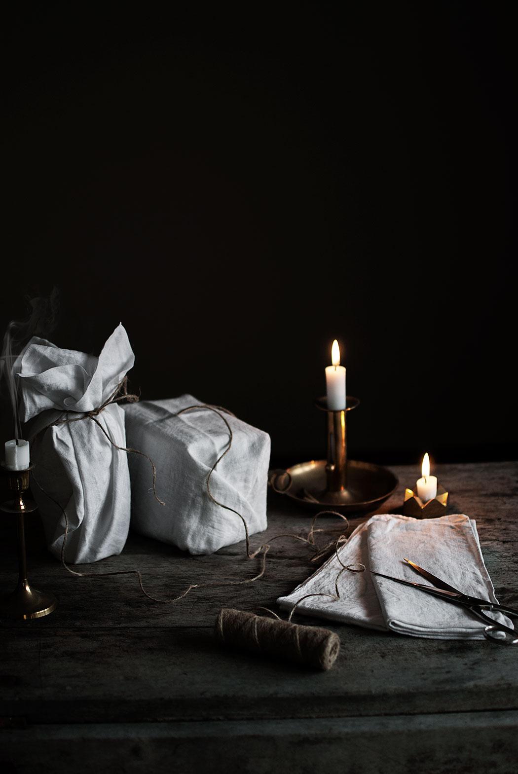 miljötips: hållbar julklappsinslagning I