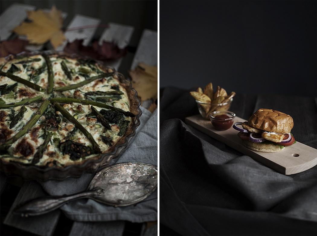 två snabba, vegetariska recept