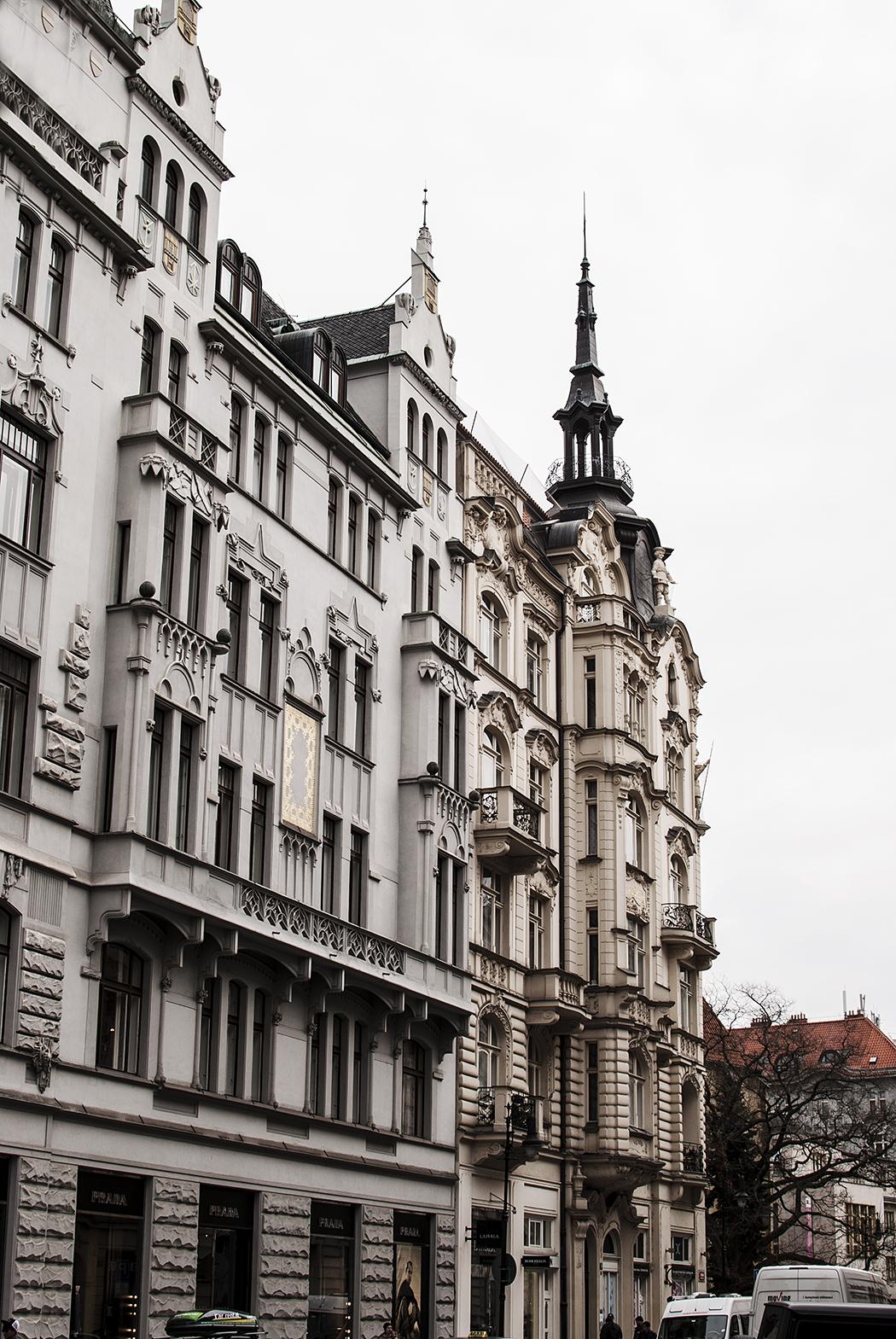 Vykort från Prag