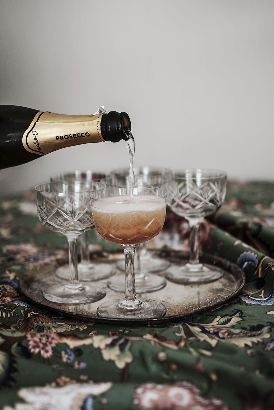 Drinkrecept: Rabarberbellini