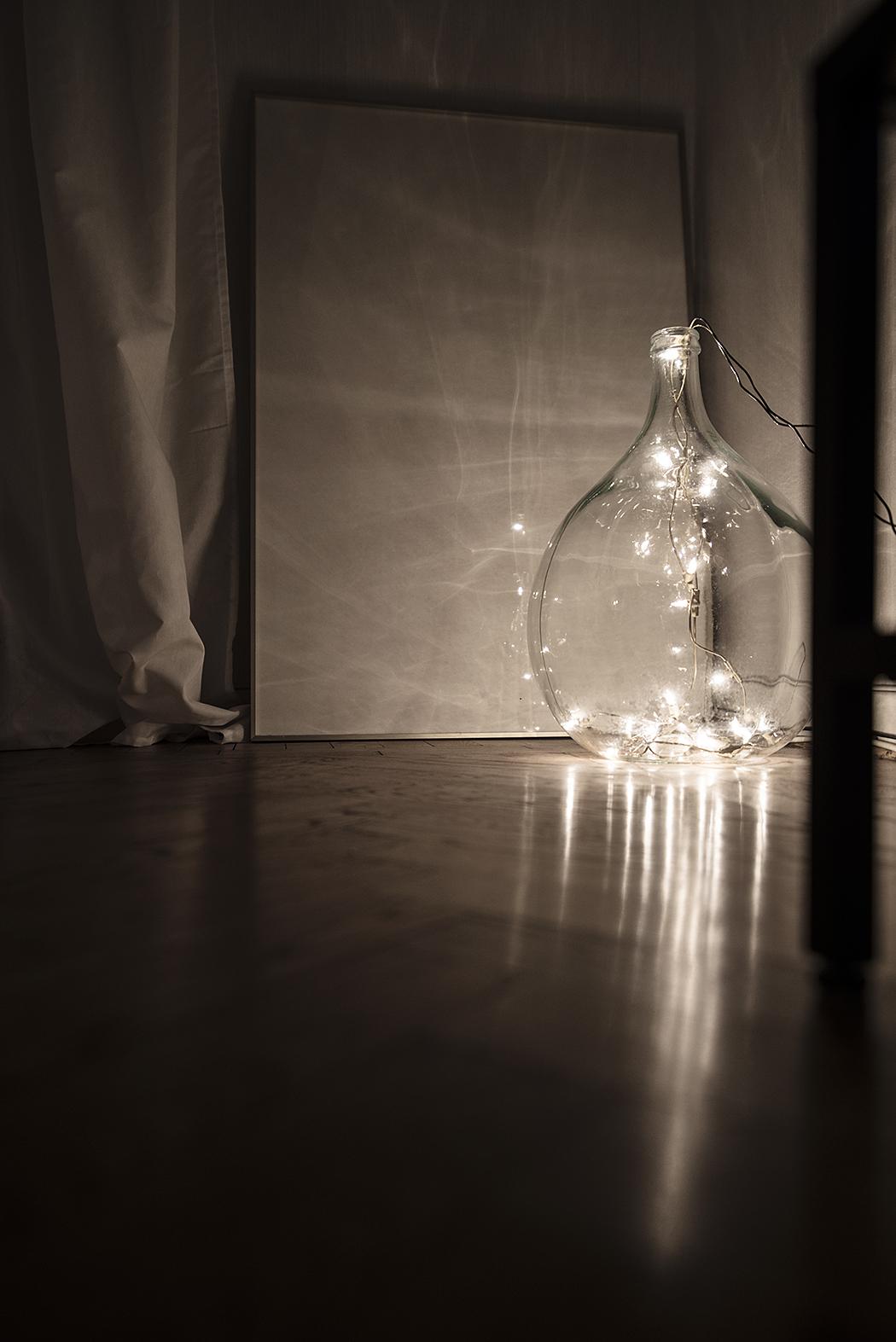 DIY: diskret julbelysning