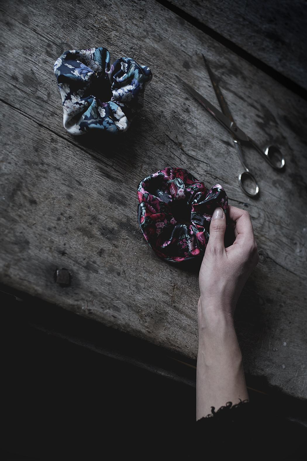 DIY – Scrunchie av återanvänt material