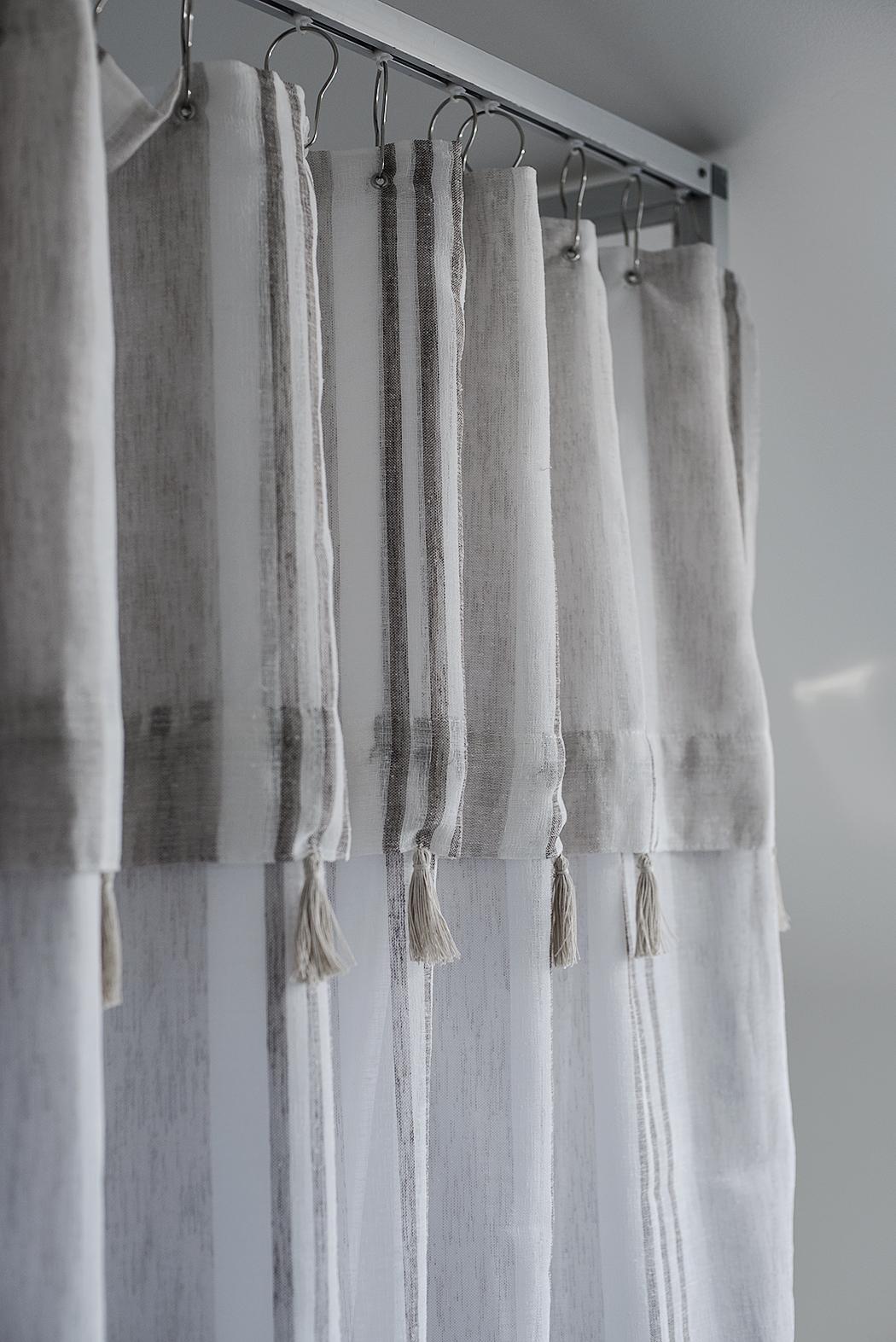 DIY – Duschdraperi i textil