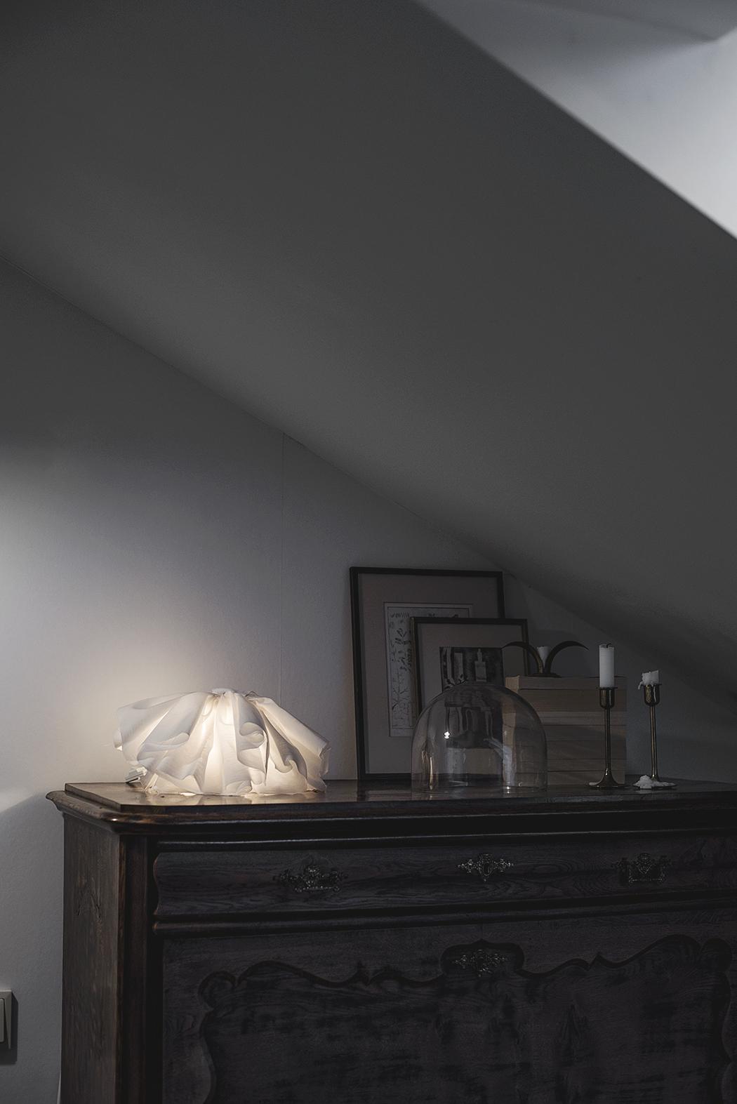 DIY – lampa i återanvänt material