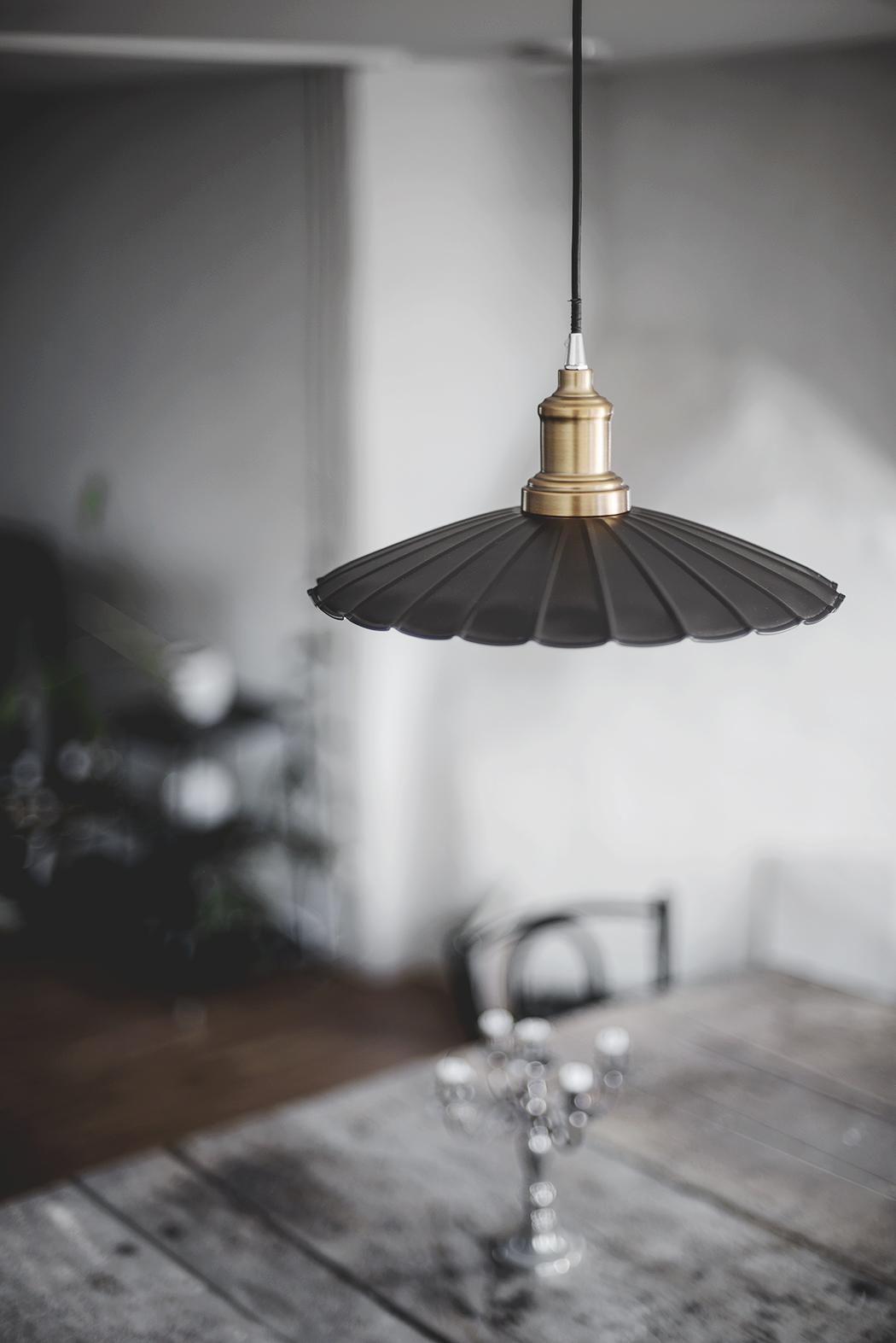 en liten lampskärm
