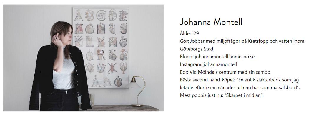 Intervju + mina 5 bästa secondhandtips i Göteborg