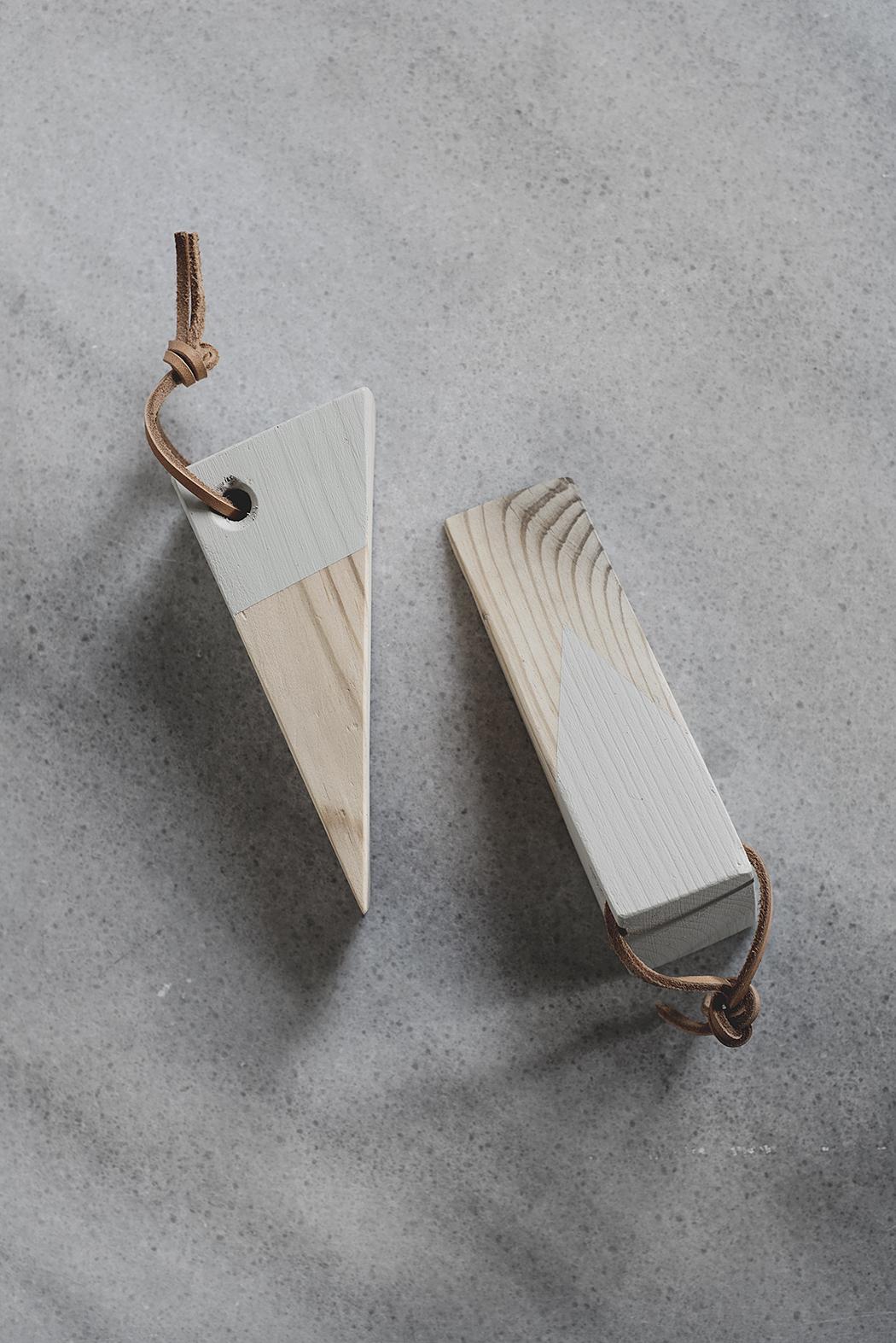 DIY – dörrstopp i återanvänt material