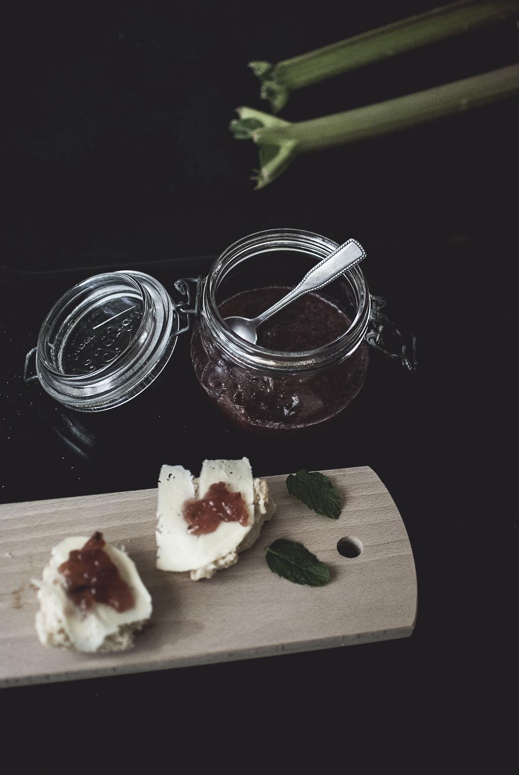 Recept: Rabarbermarmelad