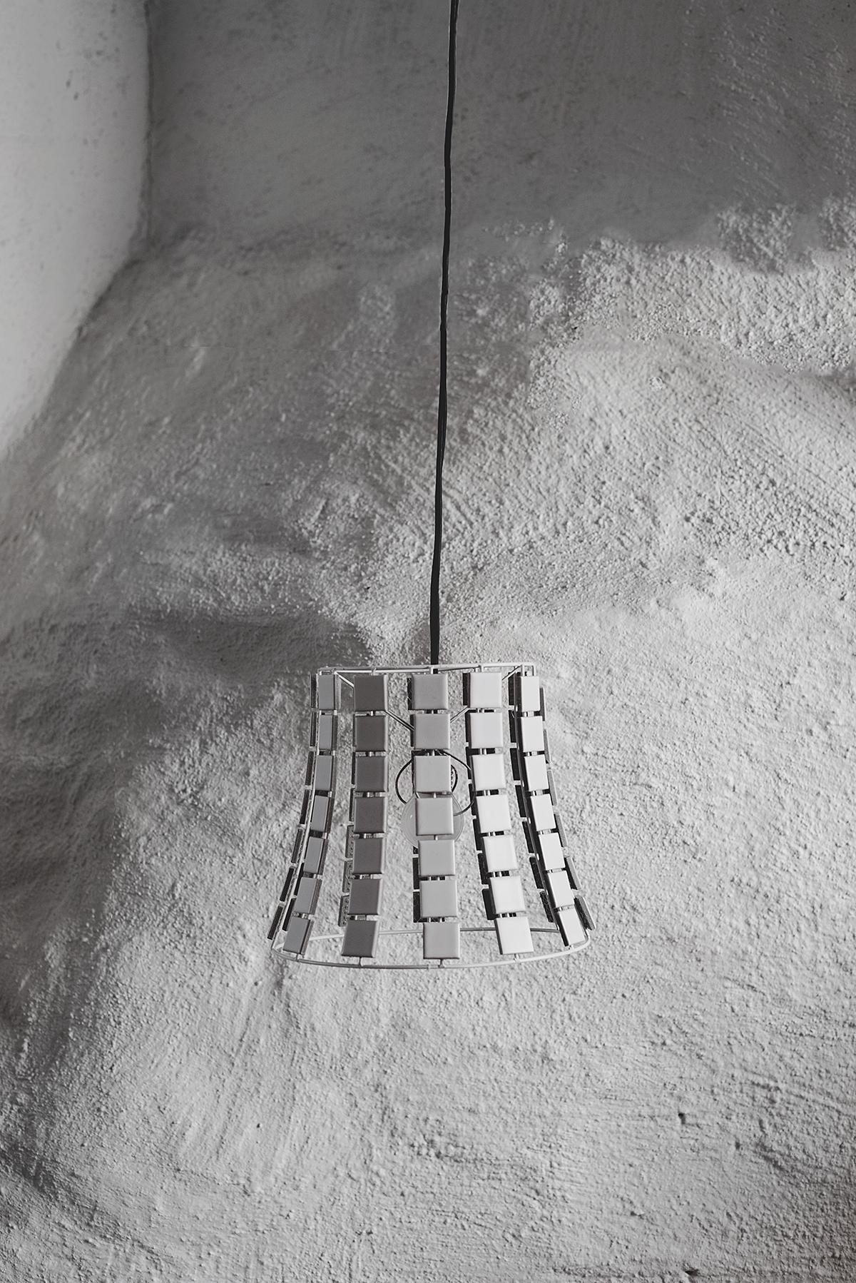 DIY: lampskärm med kakel