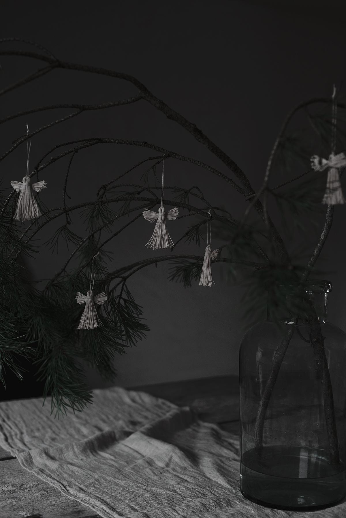 DIY: änglar av snöre