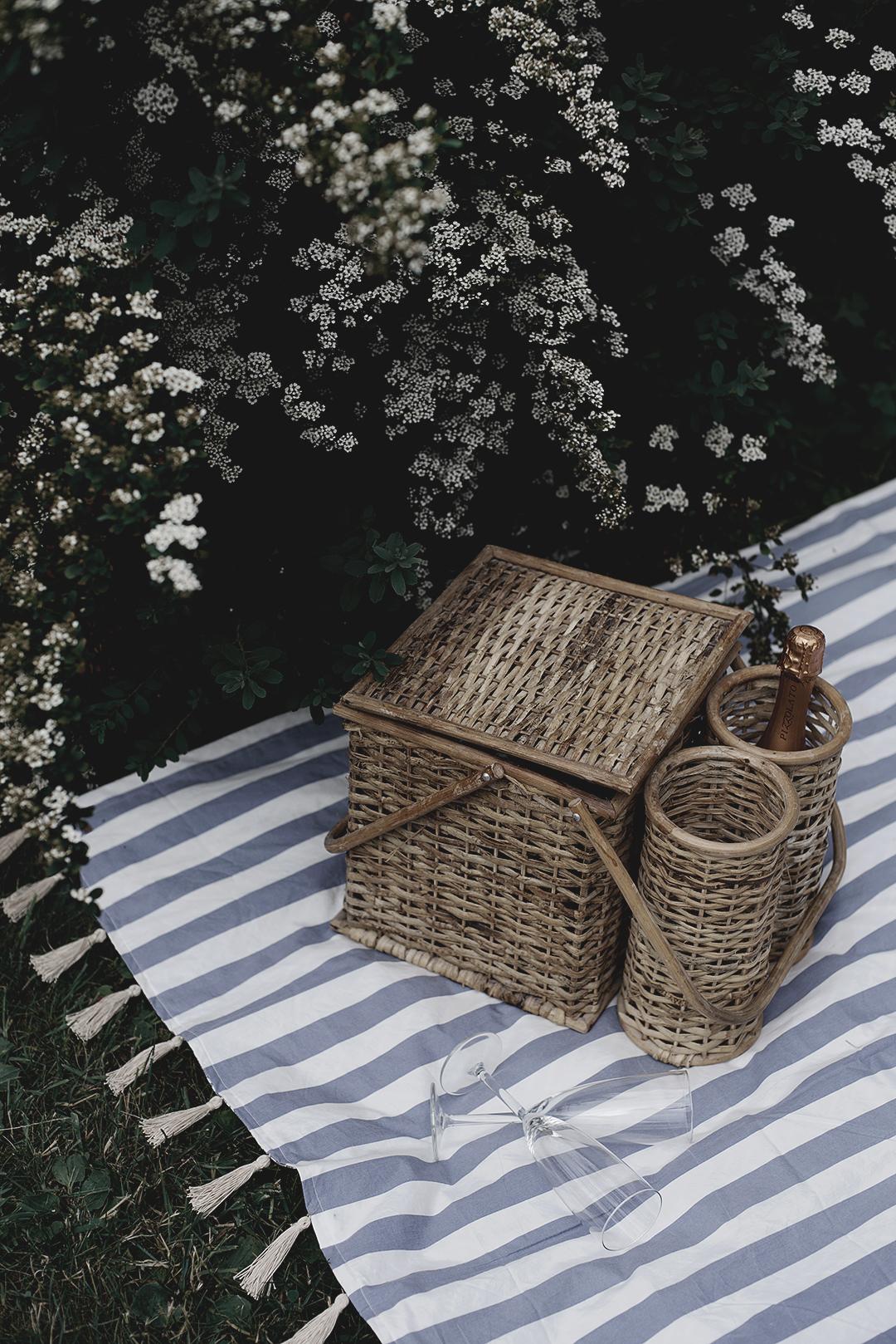 DIY: picknickfilt av secondhandmaterial